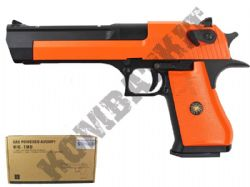 HG195 Gas Blowback Airsoft BB Gun Black and Orange